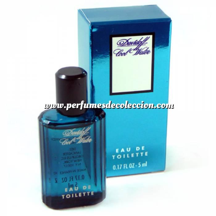 Imagen -Mini Perfumes Hombre Cool Water Eau de Toilette para hombre de Davidoff 5ml. (Últimas Unidades)
