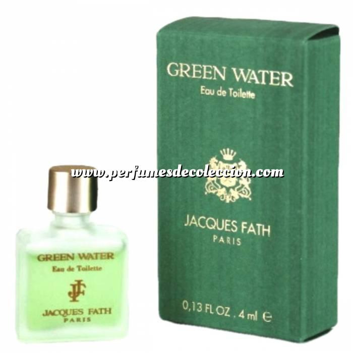 Imagen -Mini Perfumes Hombre Green Water Eau de Toilette by Jacques Fath Paris 4ml. (Últimas Unidades)
