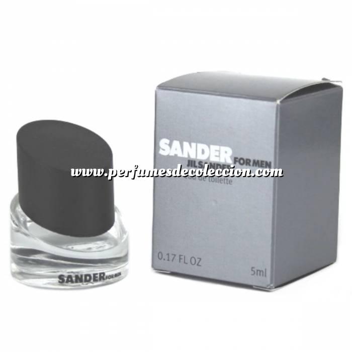 Imagen -Mini Perfumes Hombre Sander for Men Eau de Toilette by Jil Sander 5ml. (Últimas Unidades)