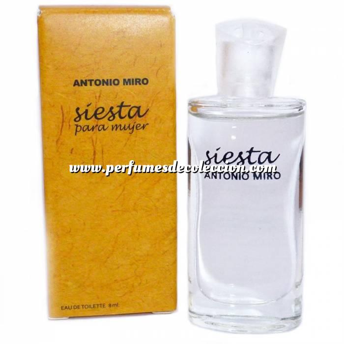 Imagen -Mini Perfumes Hombre Siesta Eau de Toilette de Antonio Miro 8ml. (IDEAL COLECCIONISTAS) (Últimas Unidades)