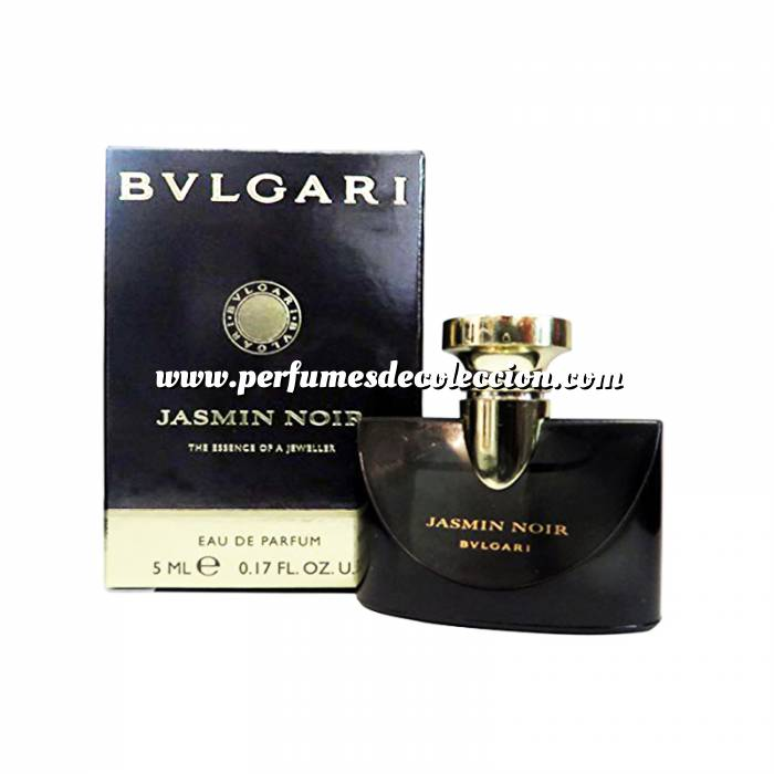 Imagen -Mini Perfumes Mujer Jasmin Noir - The Essence of a JewellerBvlgari - EDP by Bvlgari 5ml. (Últimas Unidades)