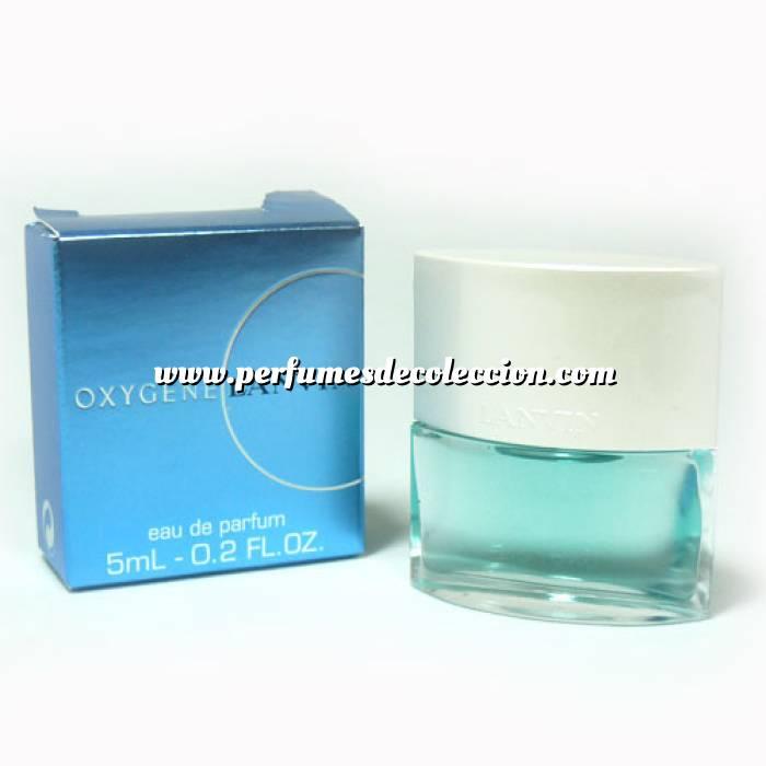 Imagen -Mini Perfumes Mujer Oxygene Eau de Parfum (women) by Lanvin 5ml. (Ideal Coleccionistas) (Últimas Unidades)