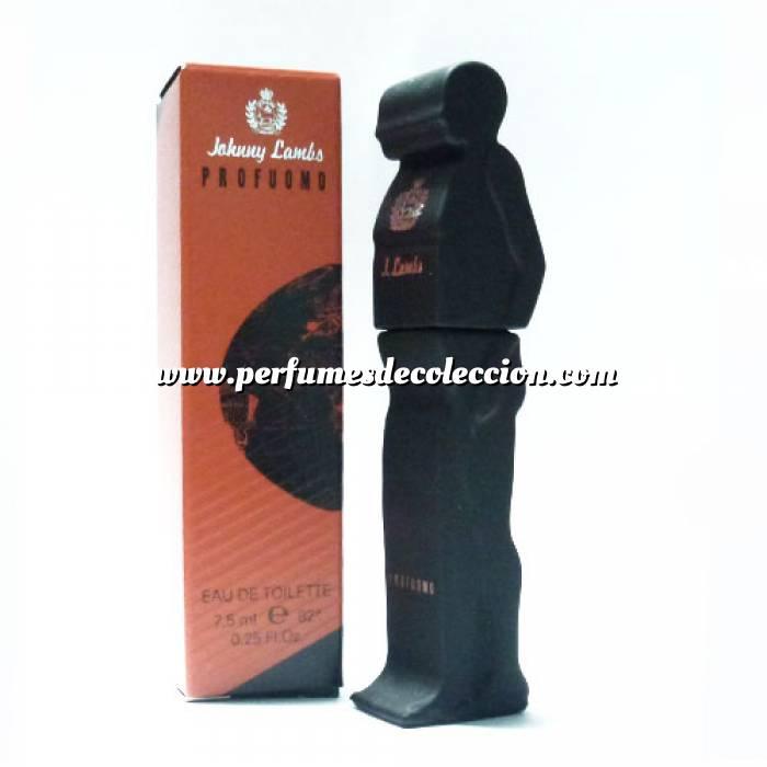 Imagen -Mini Perfumes Mujer Profuomo Eau de Toilette de Johnny Lambs 7,5ml. (IDEAL COLECCIONISTAS) (Últimas Unidades)