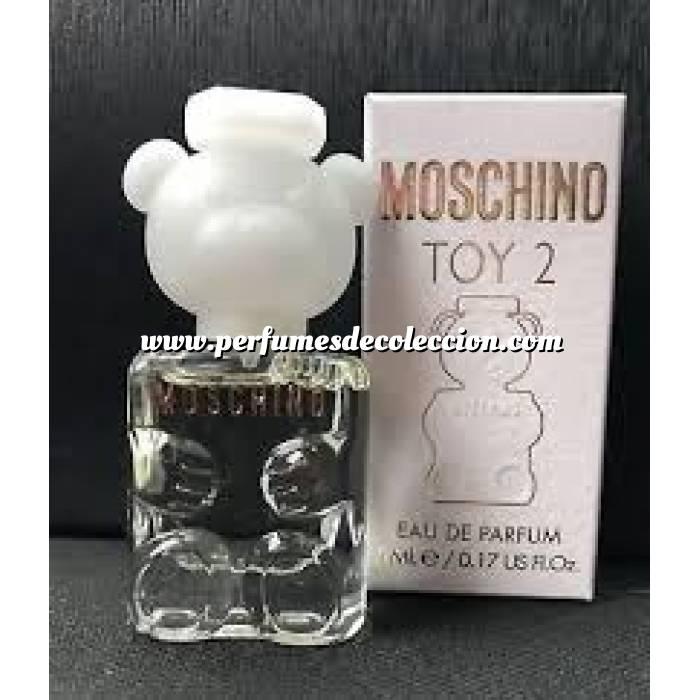 Imagen -Mini Perfumes Mujer Toy 2 de Moschino EDP para mujer by Moschino 5ml. (Últimas Unidades)