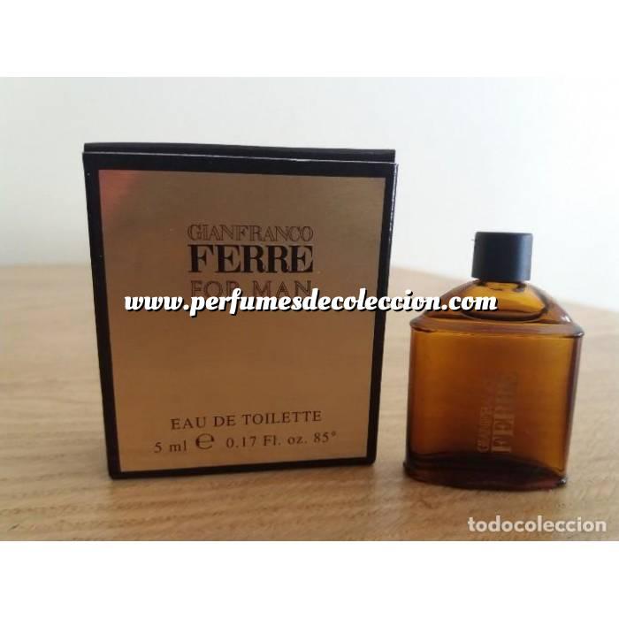 Imagen -Mini Perfumes Mujer Gianfranco Ferre For Man 5ml. (Ideal Coleccionistas) (Últimas Unidades)