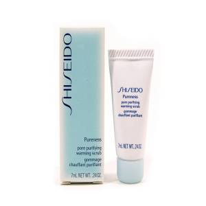 Mini Perfumes Mujer - Shiseido Pureness Pore Purifying Warming Scrub Exfoliante Gel 7 ml