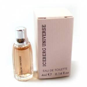 -Mini Perfumes Mujer - Iceberg Universe Eau de Toilette for Woman 4ml. (Solo coleccionistas) (Ideal Coleccionistas) (Últimas Unidades)