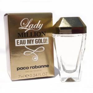 -Mini Perfumes Mujer - Lady Million Eau My Gold Eau de Toilette by Paco Rabanne 7ml. (Últimas Unidades)