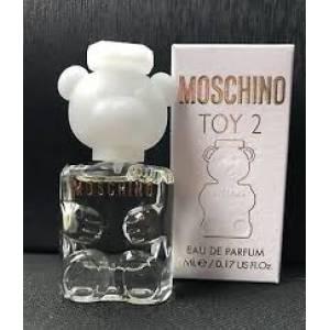 -Mini Perfumes Mujer - Toy 2 de Moschino EDP para mujer by Moschino 5ml. (Últimas Unidades)
