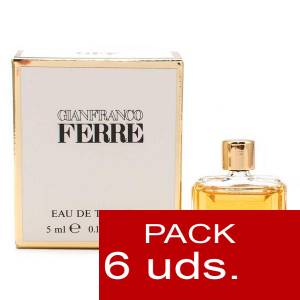 .PACKS PARA BODAS - Gianfranco Ferre EDT 5 ml PACK 6 UNIDADES